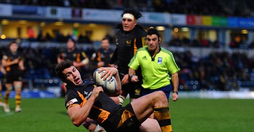 Charlie Davies London Wasps try