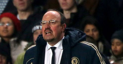 Rafa Benitez: watched his side lose a two-goal lead over Southampton at home