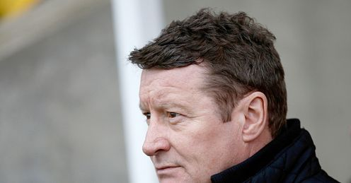 Danny Wilson: suffered a 2-0 home defeat to Crawley in his last game in charge