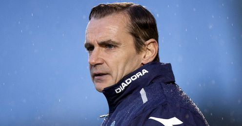 Danny Lennon: is encouraging St Mirren to play a brave style of football, says Andy