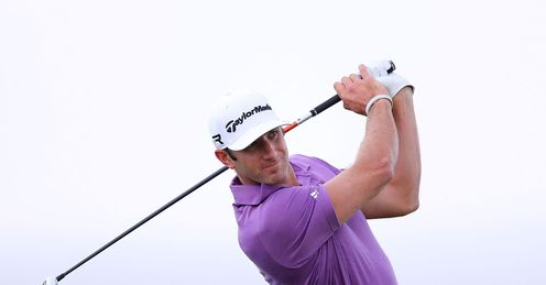 Dustin Johnson: Making a statement