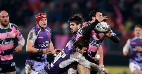 Geoffrey Doumayrou Stade Francais v London Welsh