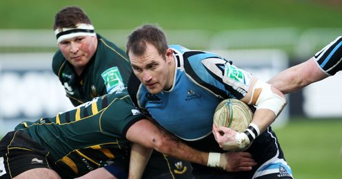 Glasgow v Northampton Alastair Kellock