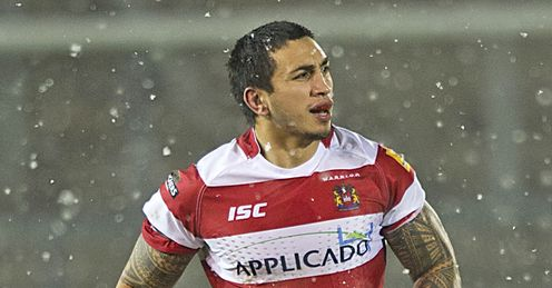 Harrison Hansen Wigan Warriors