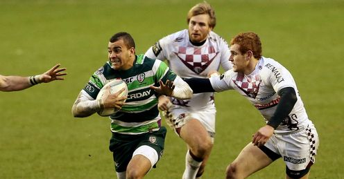 Jonathan Joseph �London Irish v Bordeaux-Begles�
