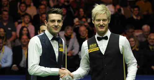 Masters: Neal reckons Selby and Robertson will meet in the final once again