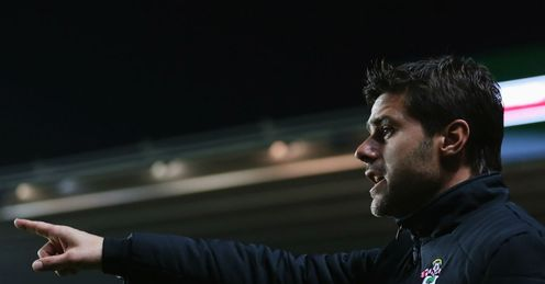 Pochettino: Spaniard in charge at Southampton