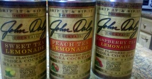 Cans of the the Original John Daly Cocktail