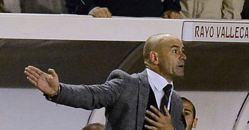 Paco Jemez has overseen a fantastic period at Rayo Vallecano
