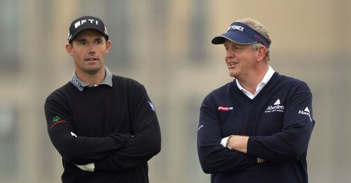Harrington and Montgomerie: To team up again?