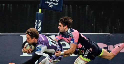 Phil Mackenzie Stade Francais v London Welsh