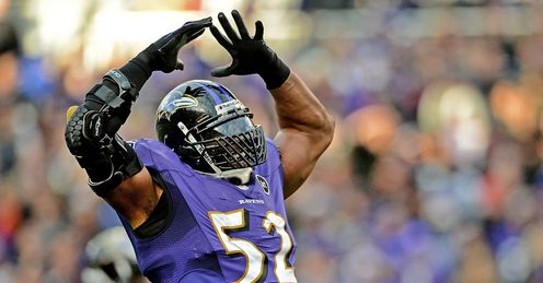 Ray Lewis Baltimore Ravens