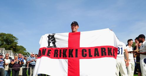 Clarke: should he be playing for his country?