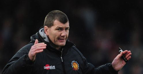 Rob Baxter Exeter Chiefs 2012