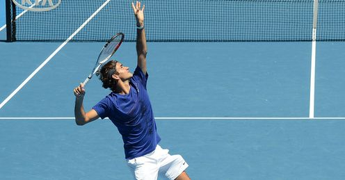 Roger Federer: looking to add to his 17 Grand Slam titles in 2013