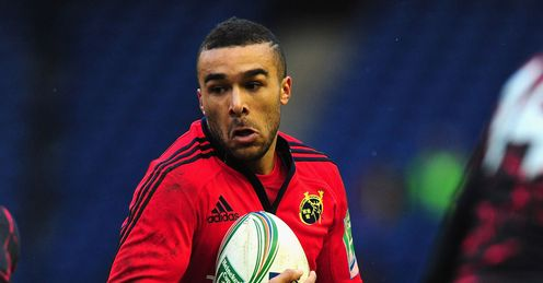 Simon Zebo Munster