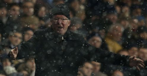 Ferguson: criticised assistant referee after Spurs game