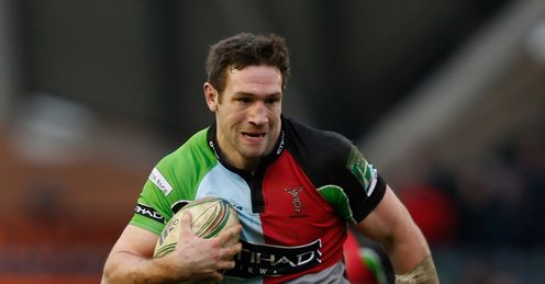 Tom Guest of Quins in Heineken Cup