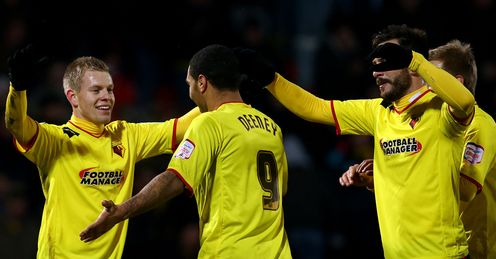 Vydra and Deeney: Watford's star forwards