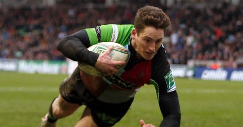 Tom Williams - Harlequins Heineken Cup