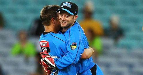 Cameron Boyce Tim Ludeman Adelaide Strikers