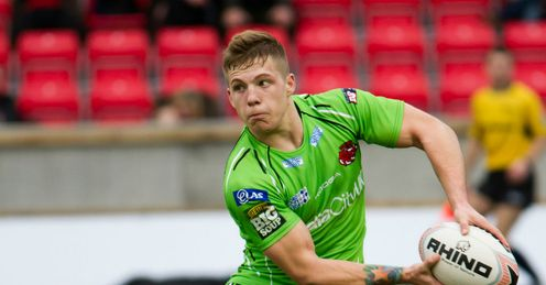 Fages: knocked out for eight minutes against Catalans