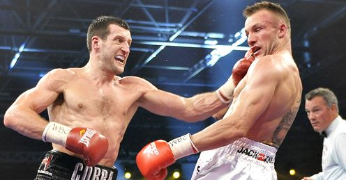 Froch and Kessler: will meet again in 2013