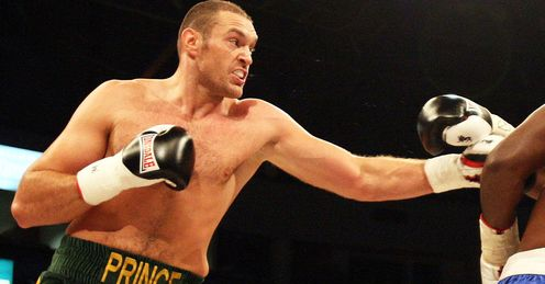 Fury: his temperament could cost him a world title, says Glenn