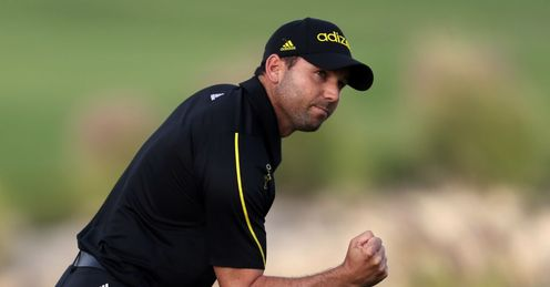 Sergio Garcia: Holding on