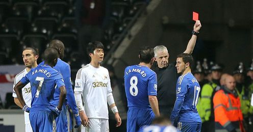 Eden Hazard: felt he had kicked the ball rather than the Swansea ball boy
