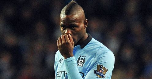 Balotelli: only one assist in his Premier League career