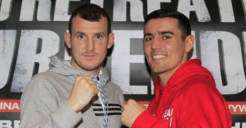 Favourite: Mathews (L) should beat Crolla again on Saturday, says Glenn