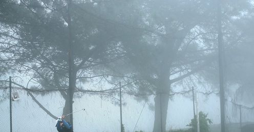 Heavy fog: Monday finish at Torrey Pines