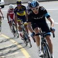 Chris Froome led the GC contenders up the climb of Green Mountain