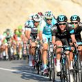 Team Sky were prominent during the second day of action in Oman