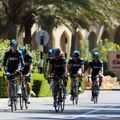 Team Sky were honing their condition ahead of the first stage on Monday