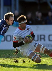 Ernst Joubert Saracens v Worcester LV= Cup Sixways