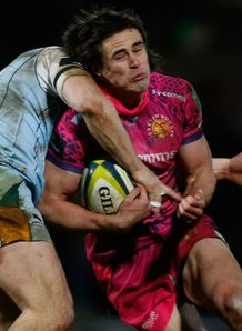 Ignacio Mieres Exeter Chiefs v Northampton Saints LV= Cup Sandy Park