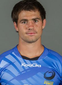 Sias Ebersohn Western Force 2013