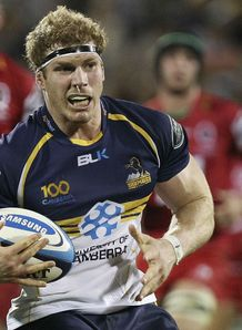 David Pocock Brumbies v Reds 2013