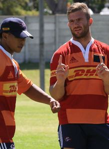 Elton Jantjies Jaco Taute Stormers training 2013