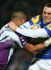 Kevin Sinfield rues missed chances after Leeds Rhinos' defeat to Melbourne Storm
