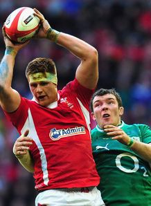 Andrew Coombs Wales v Ireland Six Nations 2013