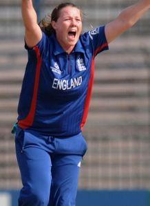 Anya Shrubsole happy after 'pretty good day' for England's women in India