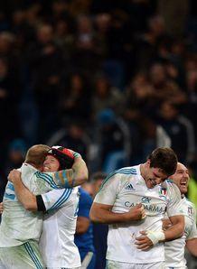 Italy v France: Celebrations