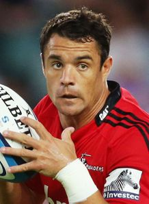 Dan Carter Crusaders v Waratahs SR warm up 2013