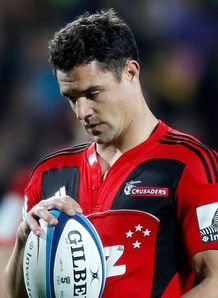Dan Carter Crusaders warm up 2013