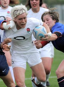 England v France womens rugby 2012