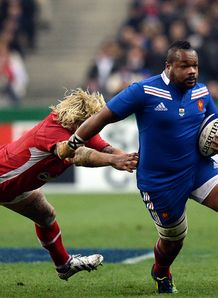 France v Wales Mathieu Bastareaud