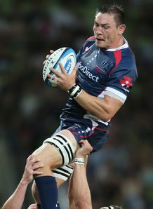 Gareth Delve Rebels v Brumbies 2013